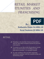 Retail Market Opportunities and Franchising