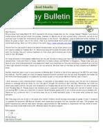 HS Friday Bulletin 03-23