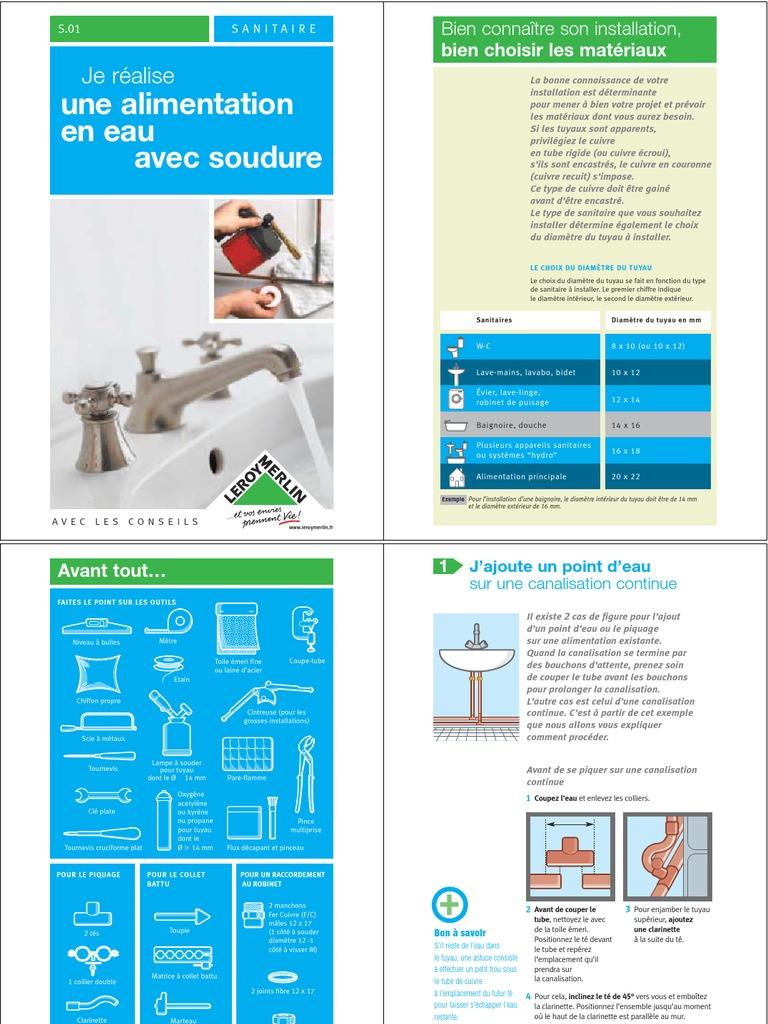 7177468 La Soudure Plomberie