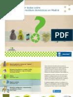 Guia Separación Reciclaje Residuos Domésticos Madrid