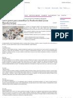 Cinco Pasos Para Aumentar La Productividad (Lean Manufacturing)