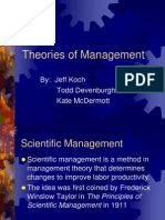 45437-30952Theories of Management Final
