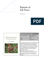 Patterns of Life Force by Julian Barnard 1987 on Bach Remedies
