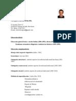 Curriculum Vitae Roberto Lopez