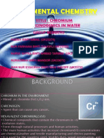 Effect of Chromium Carcinogen