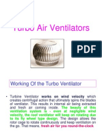 Turbo Air Ventilators