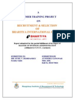 Bhartiya International Ltd. Recruitment & Selection Final