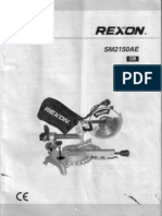 Scie a Onglet_ Rexon SM2150AE