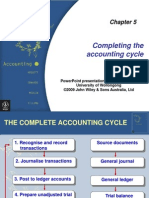 Chap05-Completing the Accounting Cycle