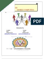 Internet&Mobile Computing 234