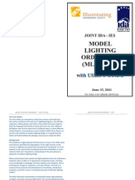 Model Lighting Ordinance (Mlo) - 2011