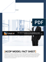 Fact Sheets - ACoP for Brand Owners
