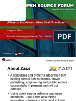 Zaizi Alfresco Solutions - Alfresco Implementation Best Practice