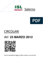 Circolari Del 23 Marzo 2012