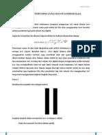 Edge Detection Using Laplacian of Gaussian (LoG)