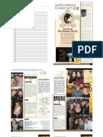 Gathering Bulletin December 7, 2008