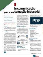 Redes de comunicação para automação industrial