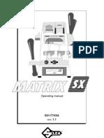 Matrix Sx Manual Operating Guide