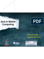 Java in Mobile Computing