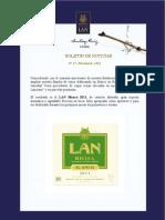 Boletín LAN - Santiago Ruiz primavera