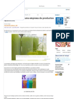 Emprendimiento Fabr Prod Quimicos