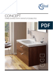 Bathroom Suites by Ideal Standard - Concept Brochure 2011