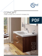 Bathroom Suites by Ideal Standard - Concept Brochure 2011