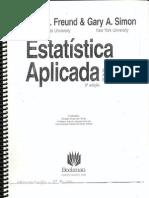 Estatística Aplicada a Economia, Administração e Contabilidade