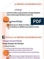 Tenaga Geomorfologi
