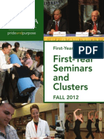 First-Year Seminars and Clusters