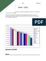 OCR Critical Evaluation Q1 b Genre Booklet A2