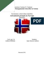 Arii Naturale Protejate in Norvegia