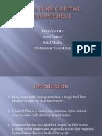 Long Term Capital Management- Case Study