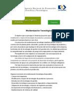 FONTAR - Creditos a Empresas