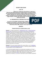 DECRETO 2480 DE 2005