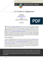 Women & Gender in Afghanistan