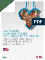 Ligne TGV Marseille - Francfort
