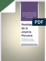 Realidad de La Joyeria Peruana