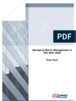 Whitepaper Managing Metric Management