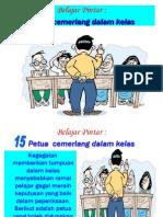 Petua Tumpuan Dalam Kelas