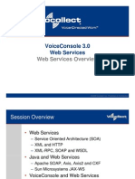 Session 2 - Web Services- Java and Voice Console
