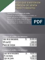 Tema 2.5 Diferentes tipos de documentos de operacion de ventas