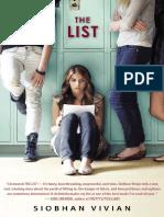 The List Excerpt