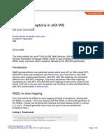 Ws Jaxws Faults PDF