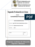 2da Evaluaciòn Contabilidad  VALE