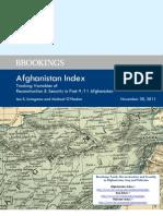 Brookings Afghanistan Index