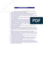 Agradecimientos Dedicatorias Indices y Demas