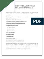 Disciplina de Trabajo Social Grupo 3