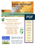 March 25 Newsletter