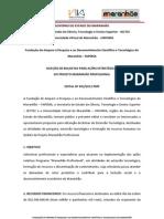 Edital Fapema N° 002-2012 PMP